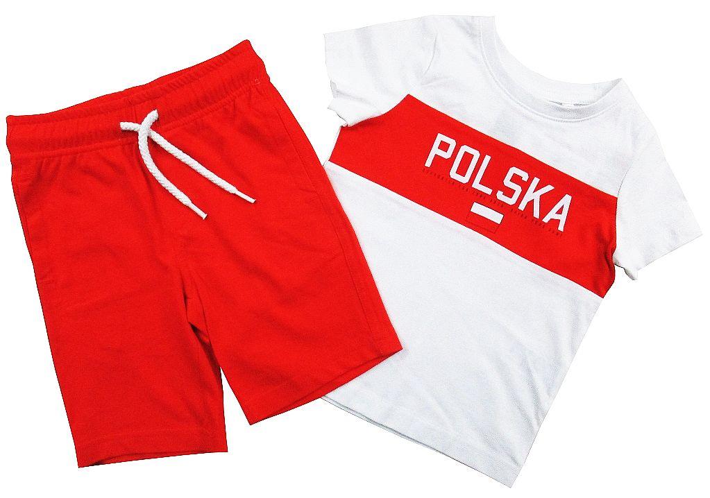 *C&A* _ KPL__ T-SHIRT + SZORTY _  POLSKA _ 140