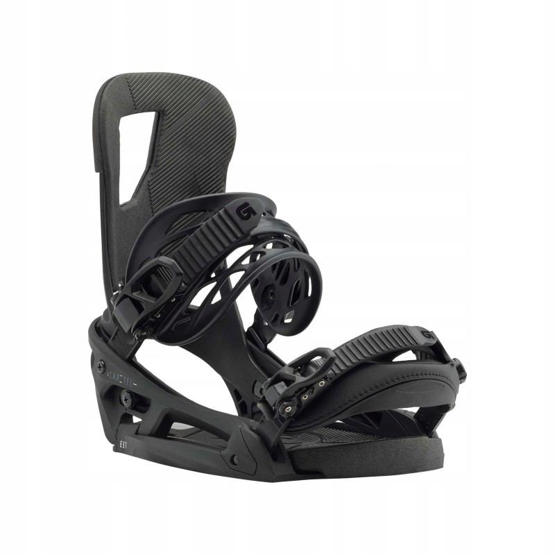 Wiązania snowboardowe BURTON CARTEL EST / BLACK MA