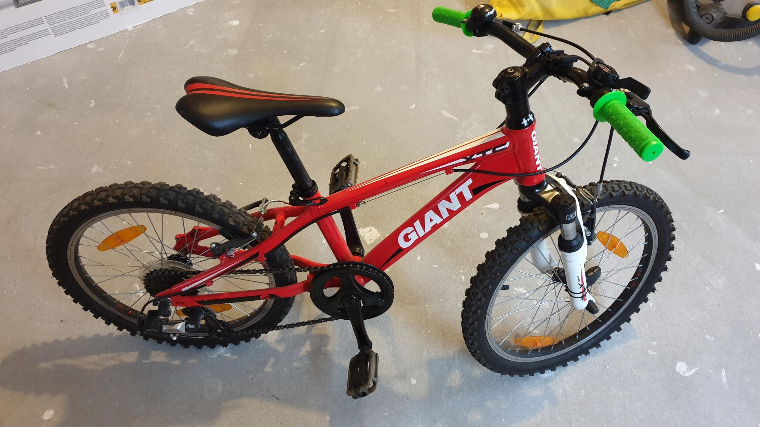 Rower GIANT XTC dla dziecka koła 20 cali