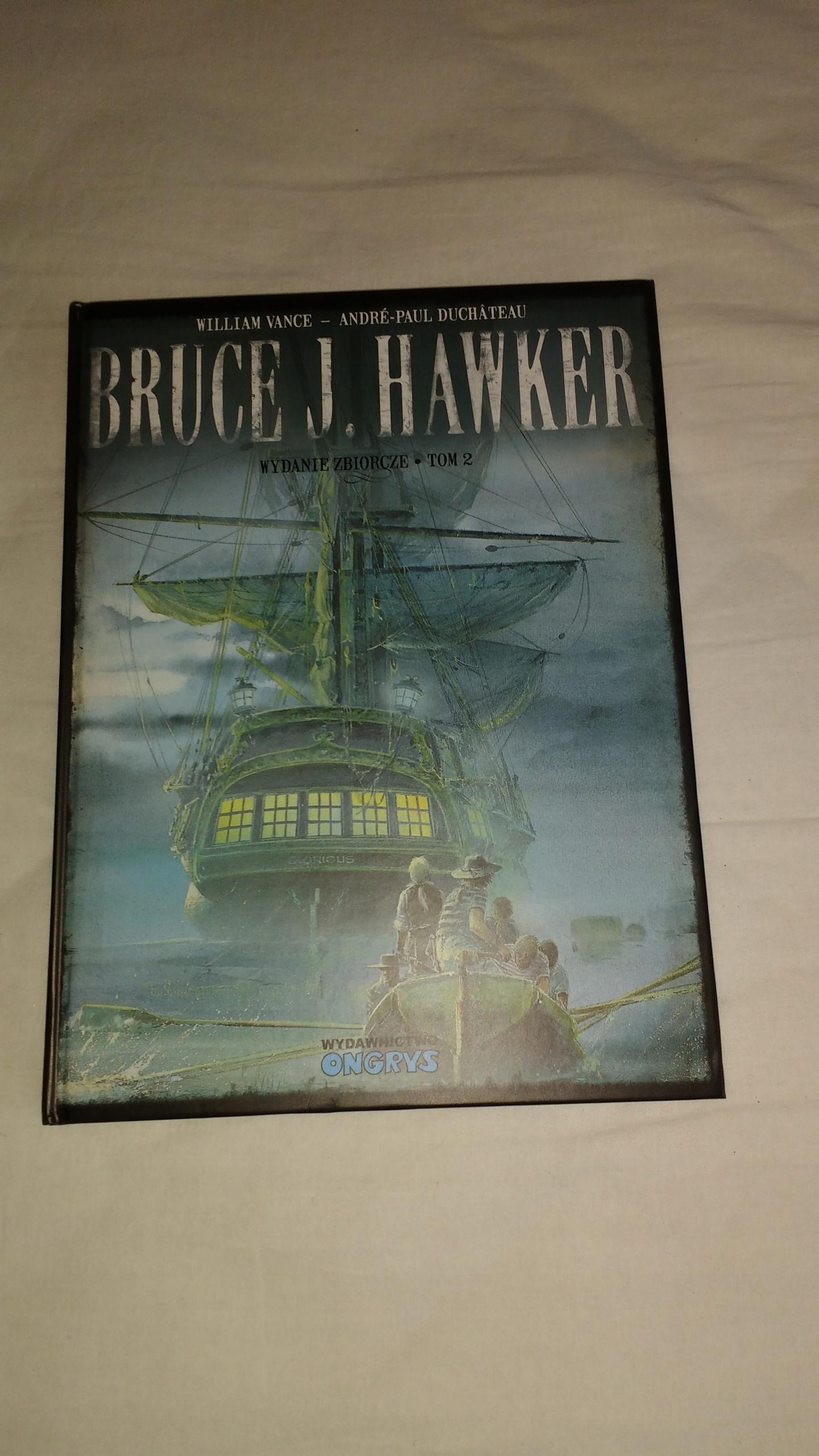 Bruce J Hawker wydanie zbiorcze 2 Vance Duchateau