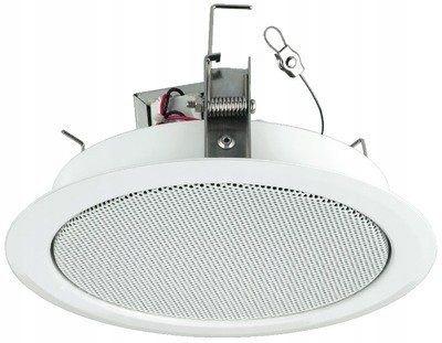 508F71 Głośnik sufitowy Monacor EDL-68 / WS PA