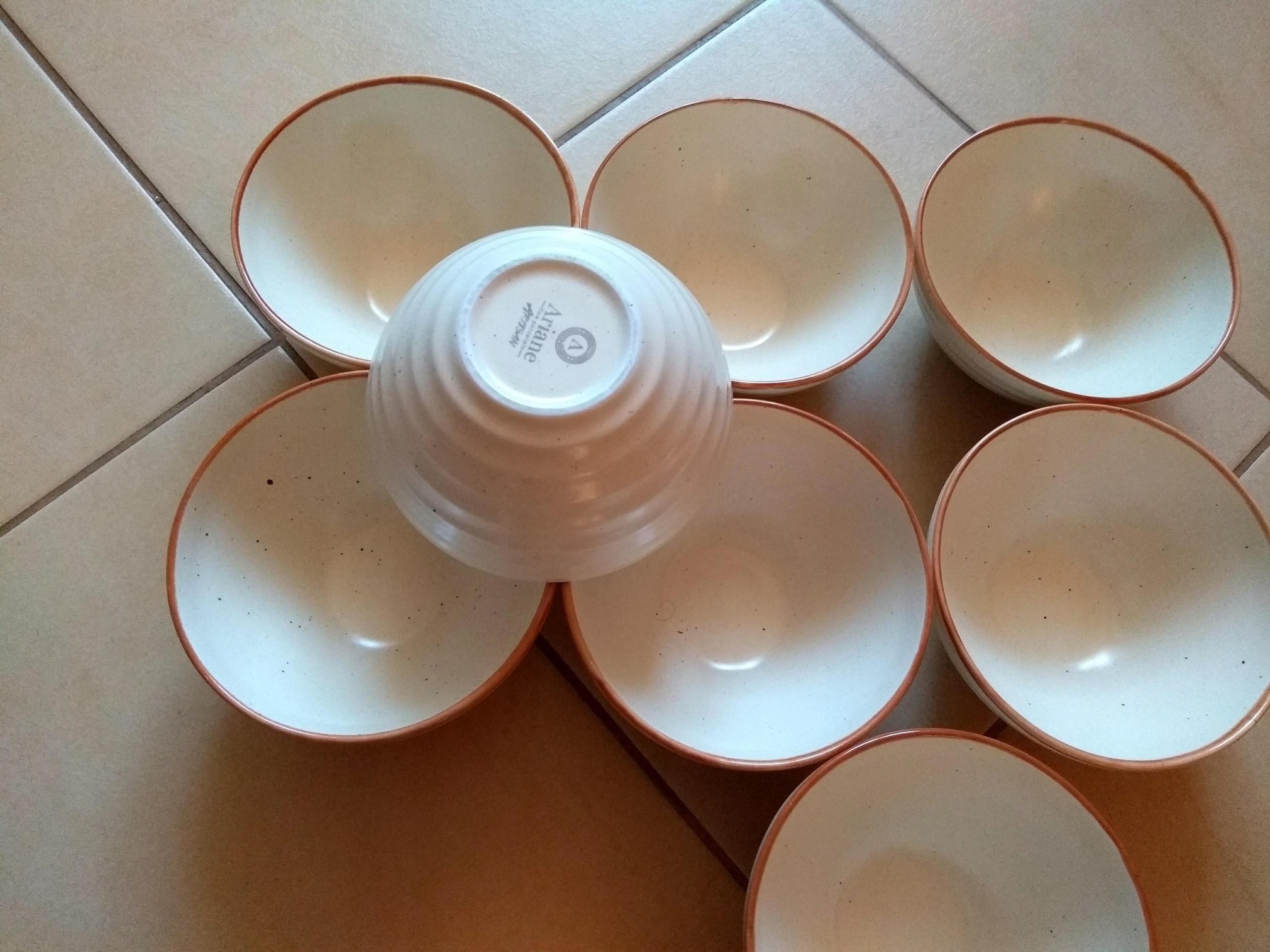 Ariane Talerz Głęboki Porcelana Piaskowy 400 ml