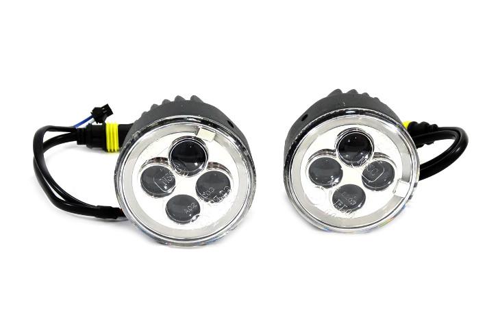 Światła dzienne LED DRL + ringi pozycyjne CCFL E4