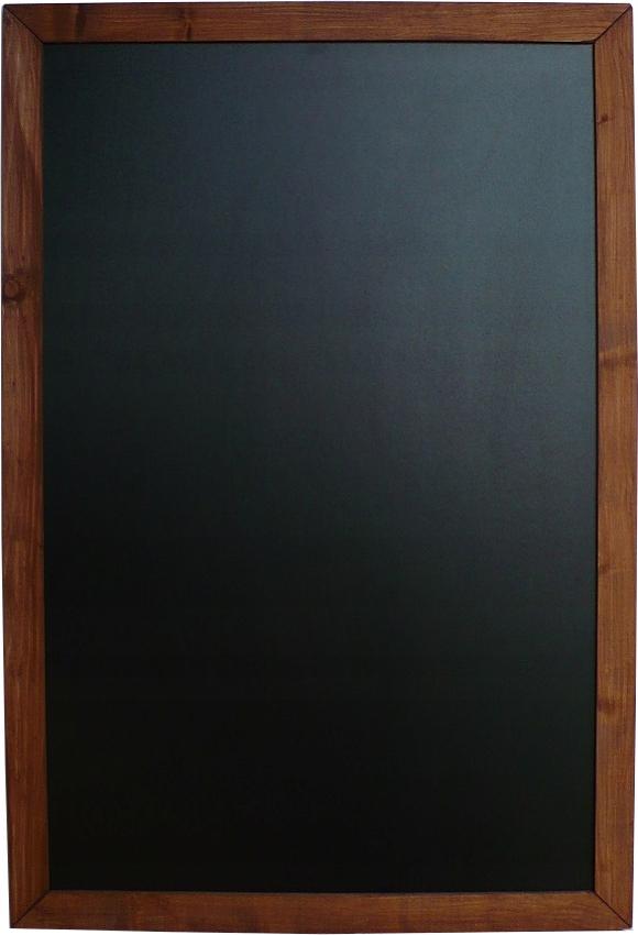 Tablica kredowa wisząca drewniana 100x160cm