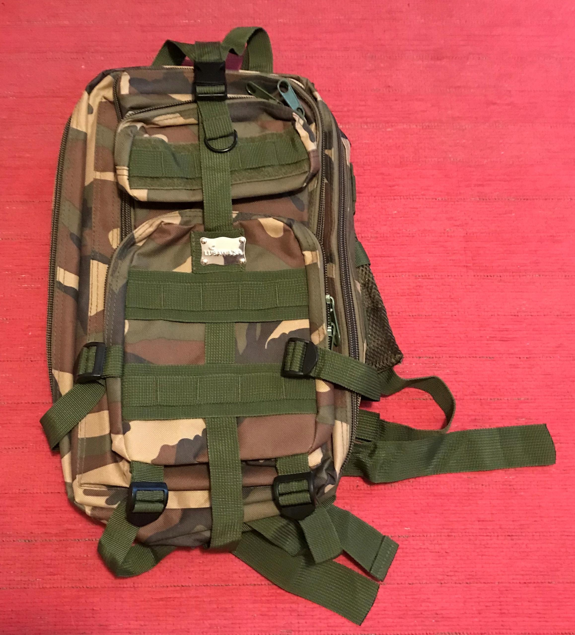 Plecak wojskowy moro NOWY