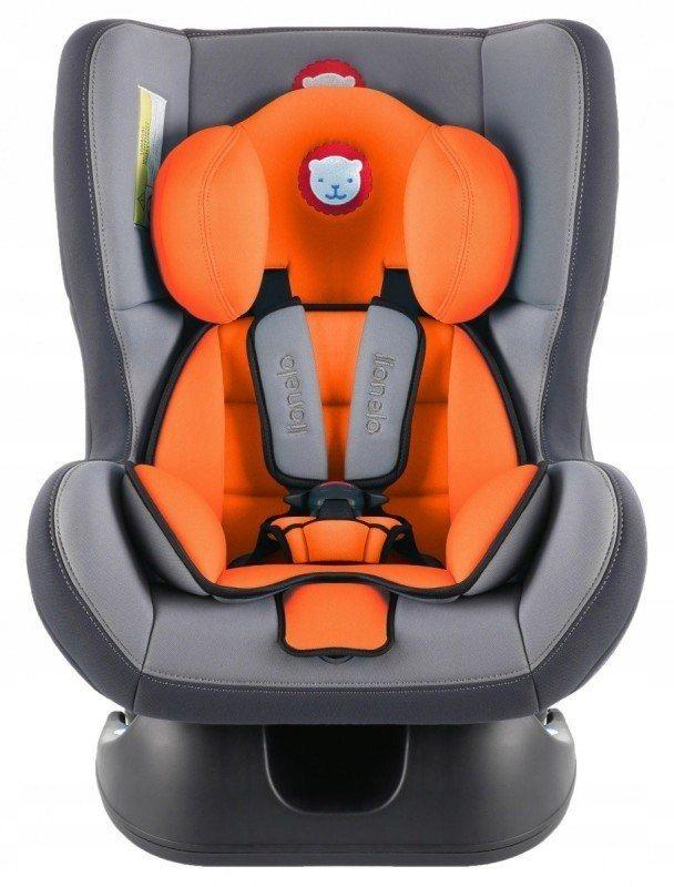Fotelik 0-18 kg Liam Color Orange