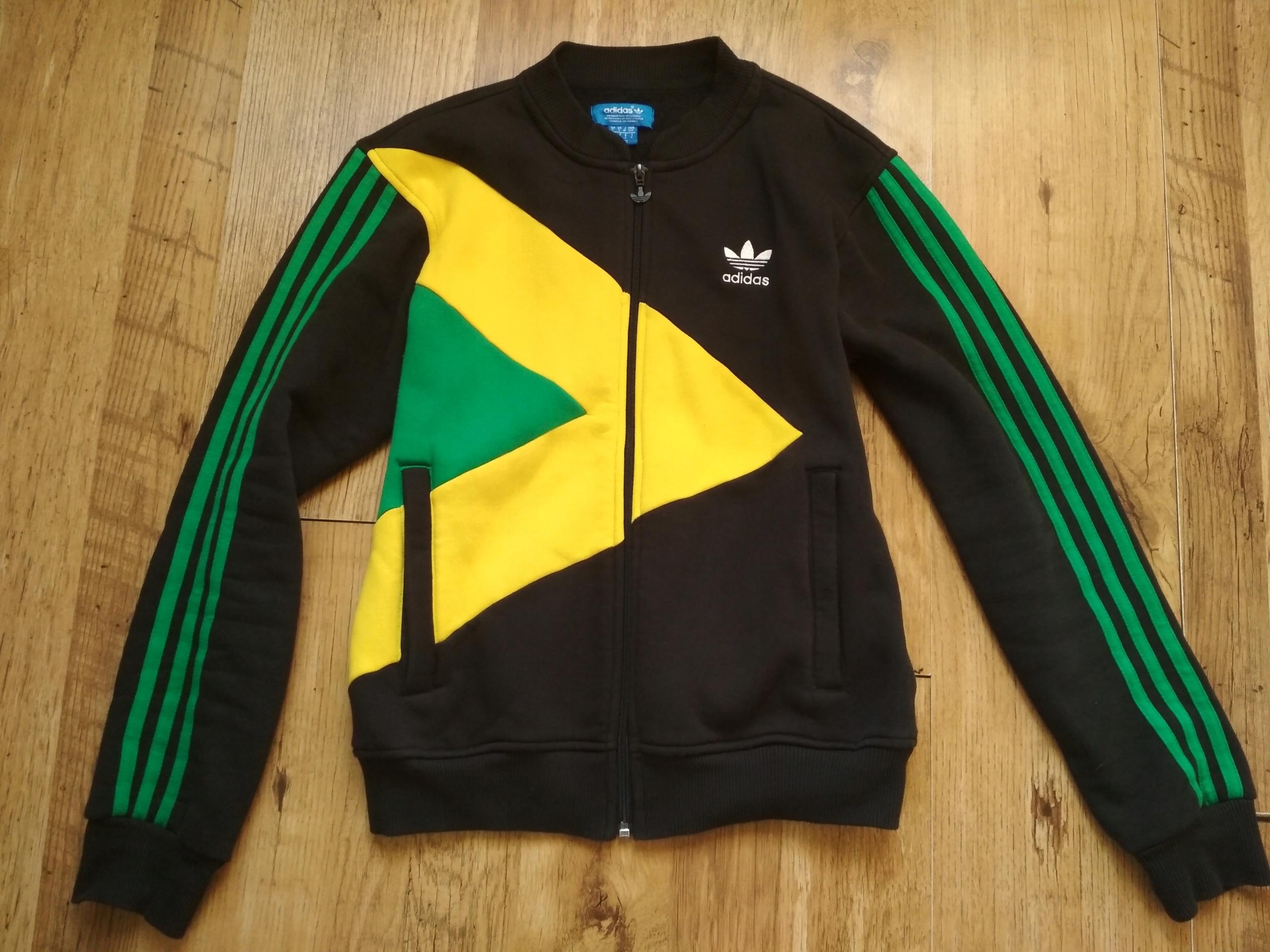 outlet na sprzedaż Cena obniżona nowe style Bluza ADIDAS JAMAJKA etno reggae rasta hippie boho