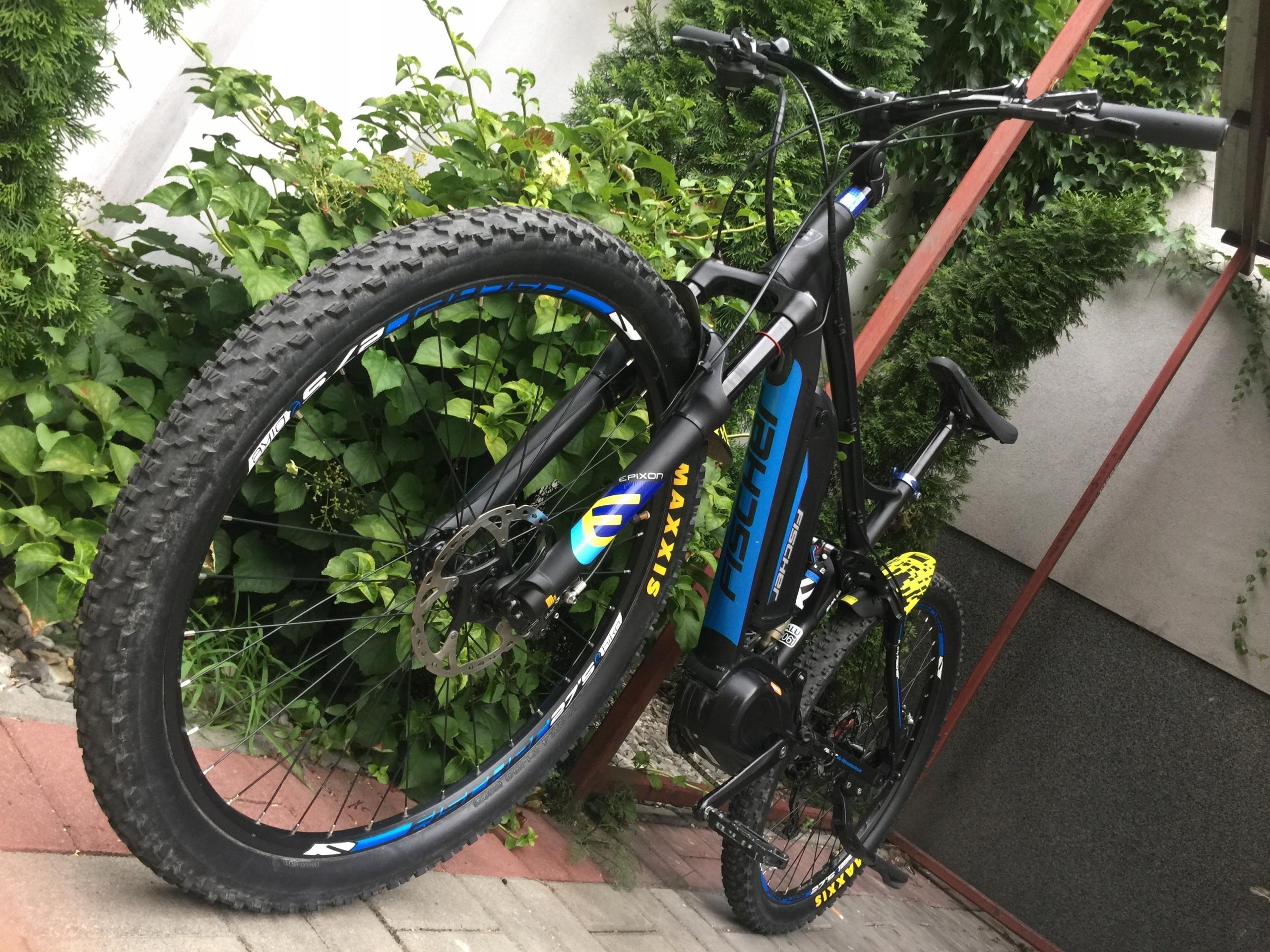 E-MTB Fischer 1762 rower elektryczny Full, idealny