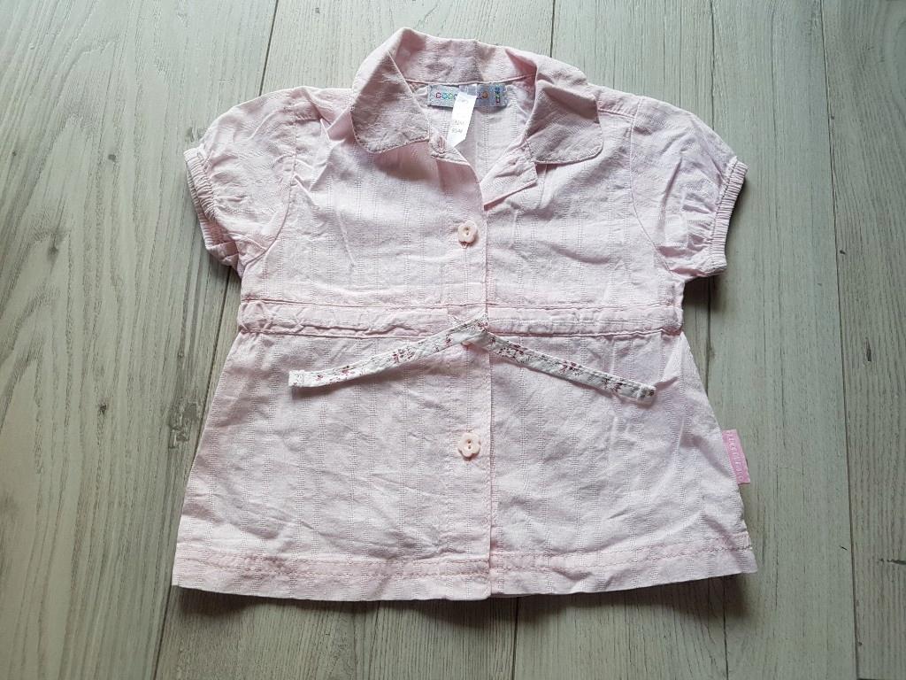 Bluzka koszula dla dziewczynki COCCODRILLO 80 nr86
