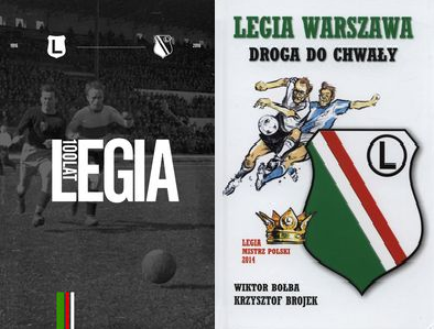 Legia 100 lat Bator + Legia Warszawa Droga