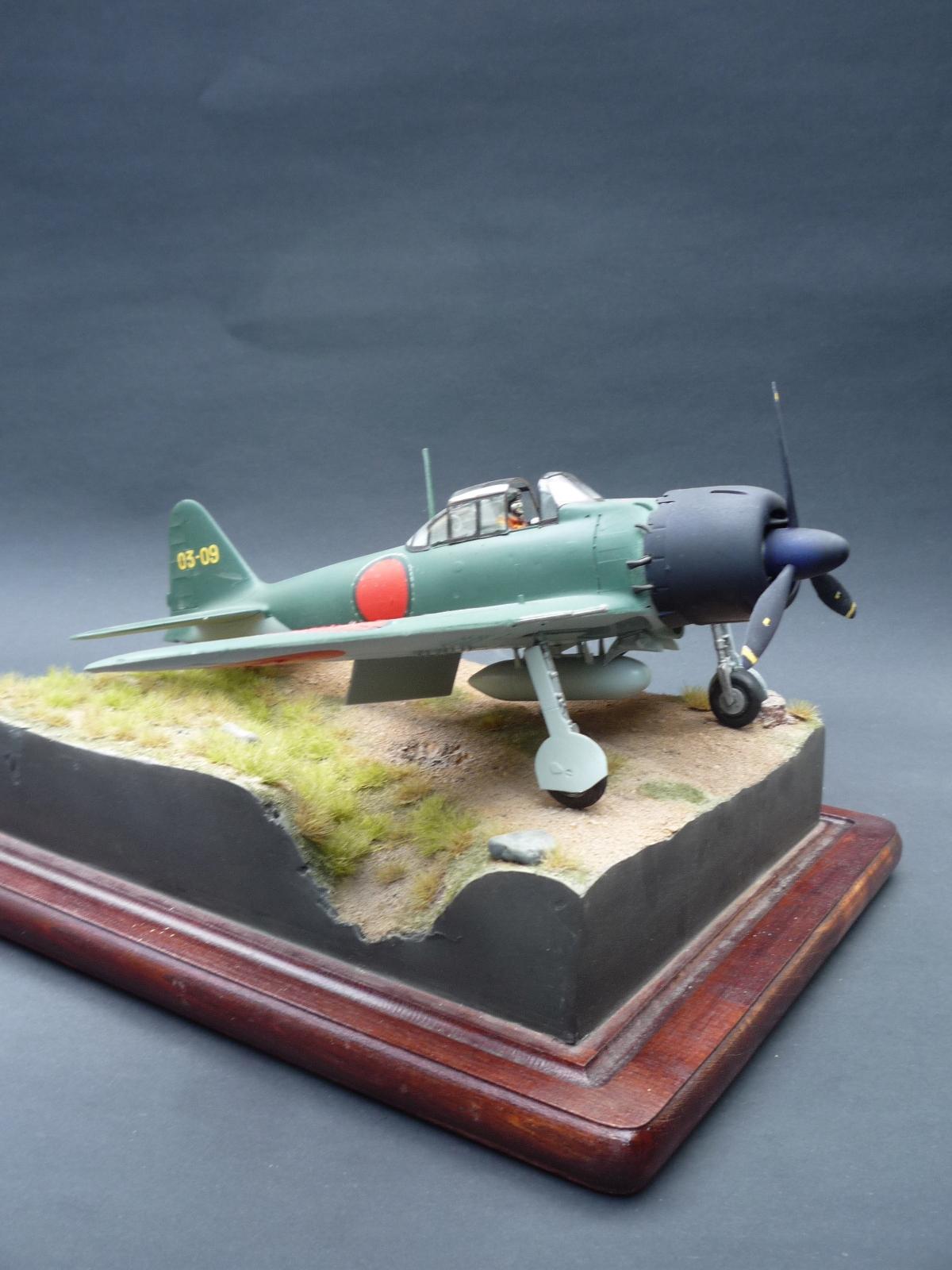 GOTOWY MODEL 1; 32 Mitsubishi A6M5 Zero Fighter