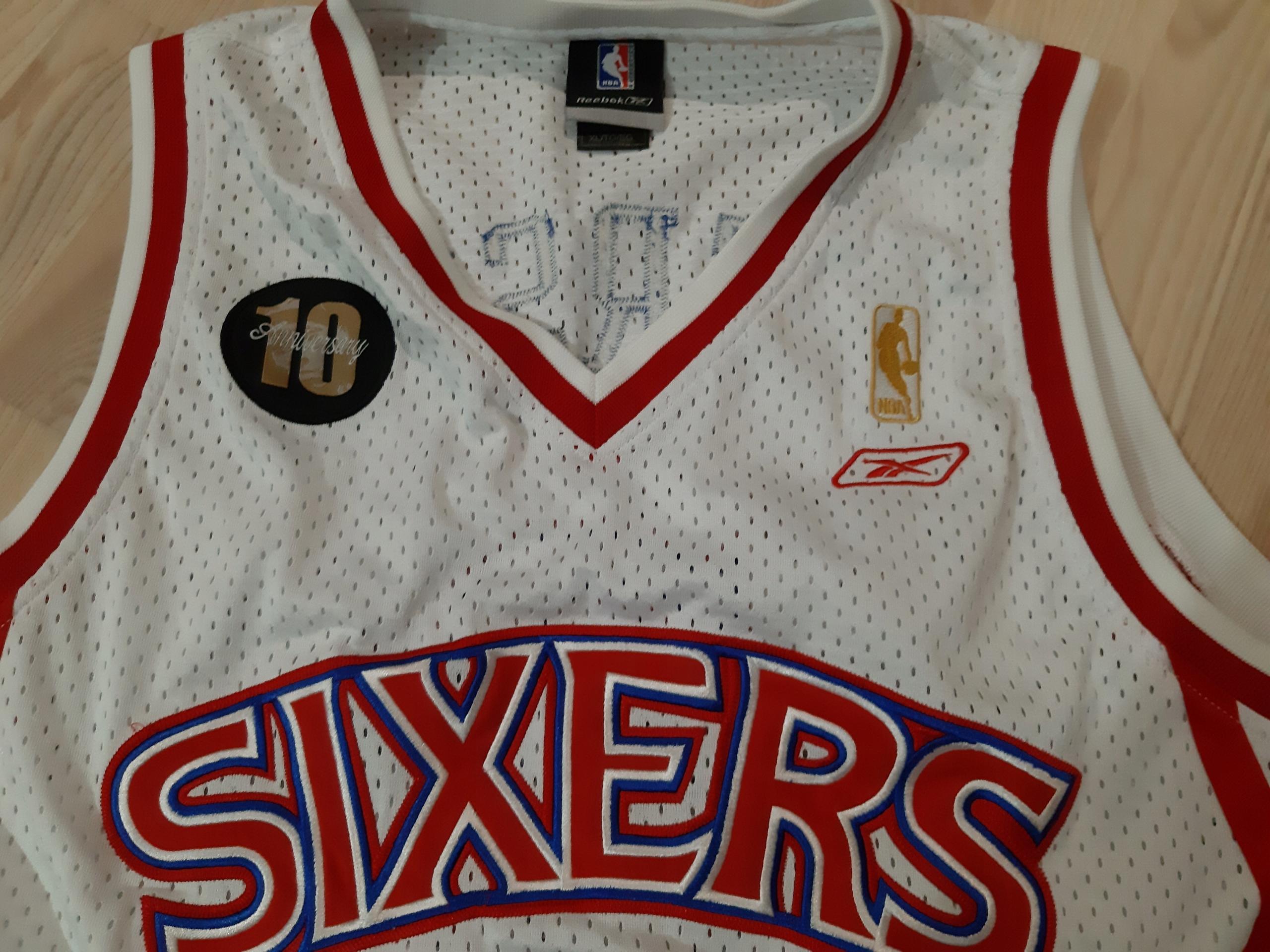 Koszulka Iverson NBA reebok Philadelphia sixers