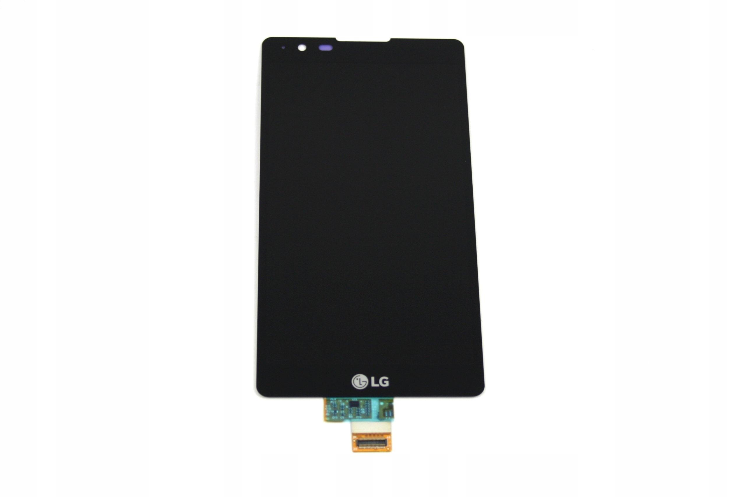 LCD WYŚWIETLACZ + DOTYK LG K220 CZARNY XPOWER