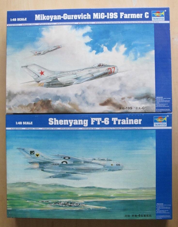 sowiecki / chiński: MiG-19S/J-6 + JJ-6/FT-6 +kalka