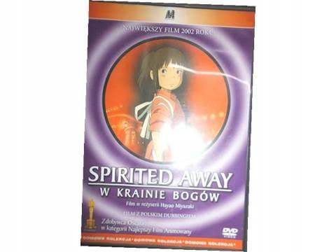 Spirited Away W krainie bogów - DVD pl lektor