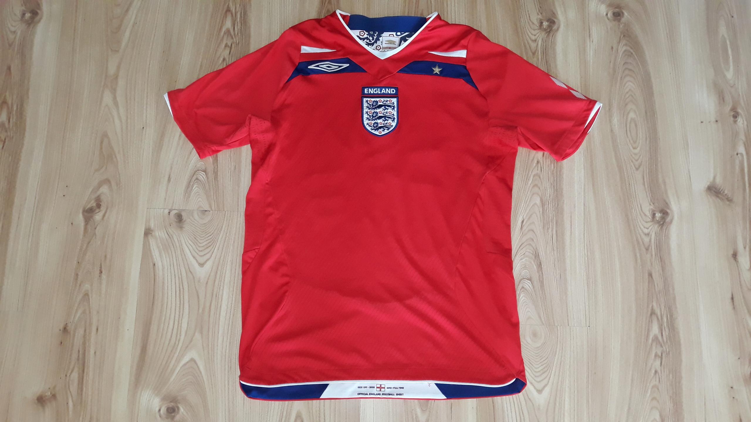 Koszulka Umbro S Rooney 10 Anglia England Unikat