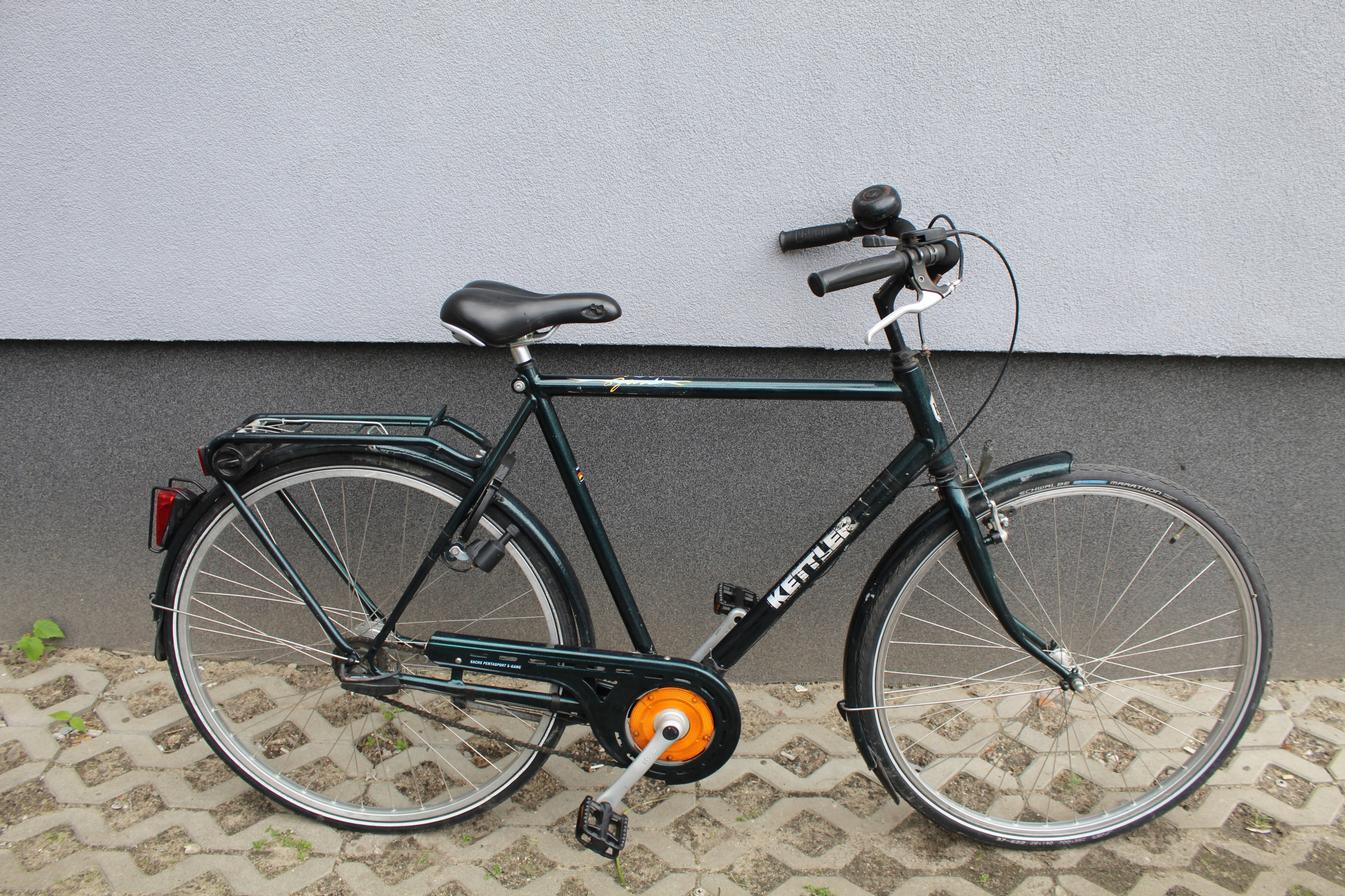 Rower miejski KETTLER zielony, 61 cm, 28,5 biegów