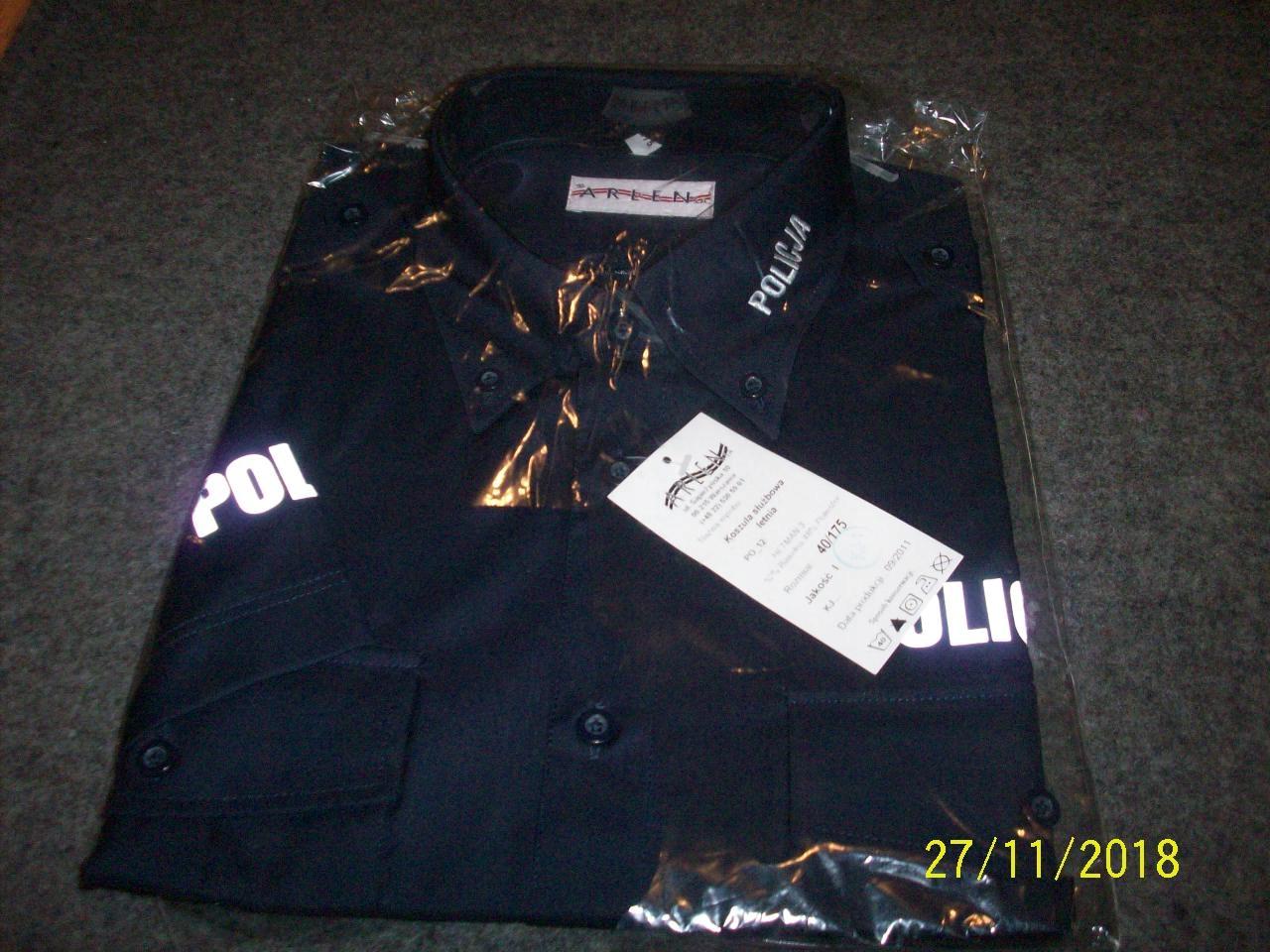 Koszula policja krotki rekaw nowa oryginalny sort