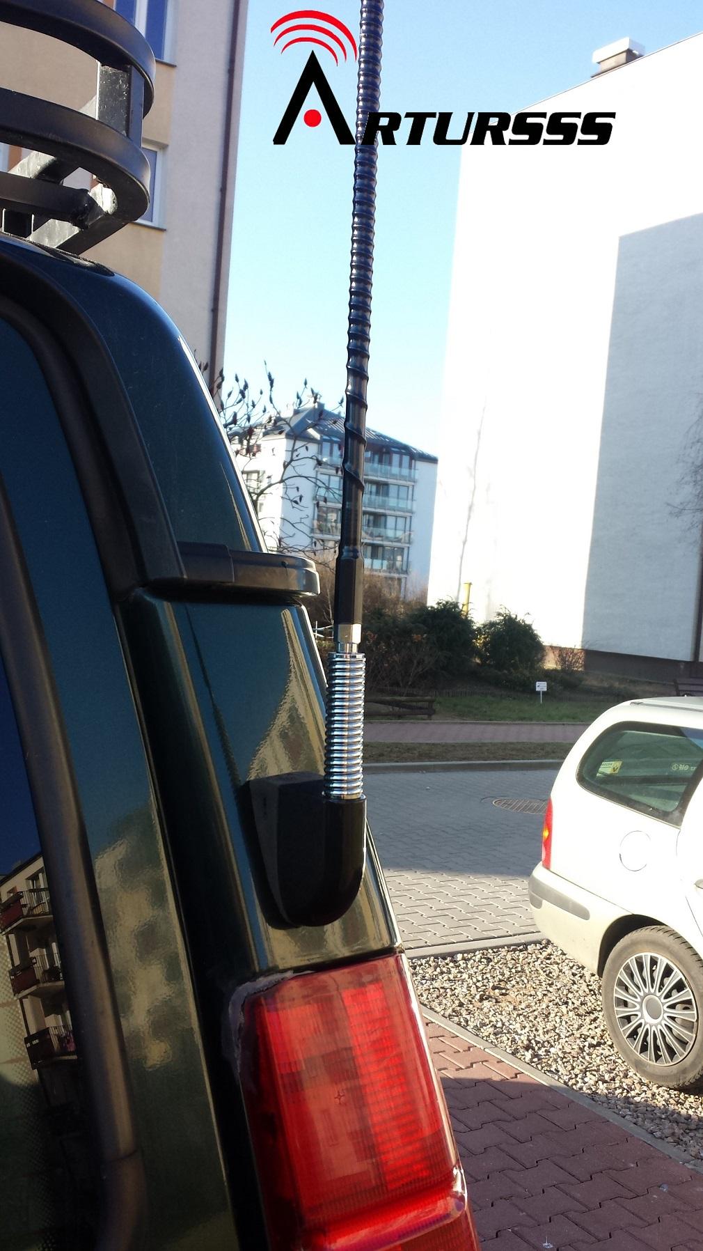 OFFROAD Land Crusier Antena CB Firestik FS4 HD-SYS