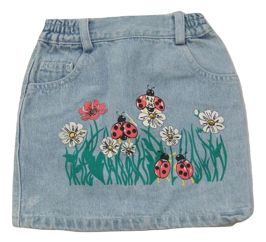jeansowa spódniczka 104cm ARIZONA