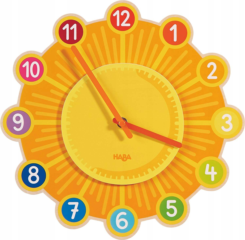 HABA 302308 zegar ścienny słońce