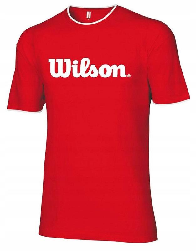 Koszulka Wilson T-shirt WRE114730 bawełna XL