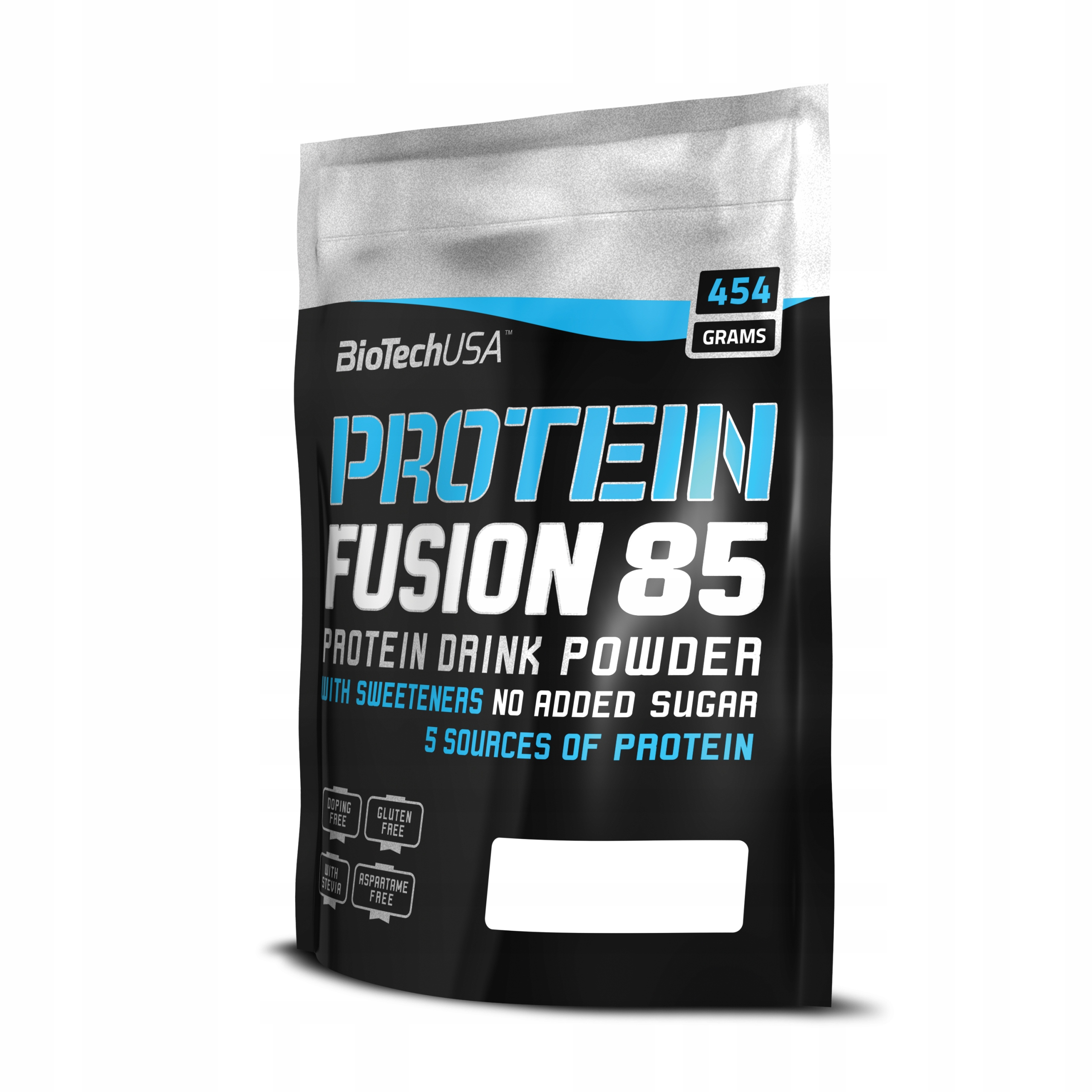 BioTech Protein Fusion 85 - 454g truskawka