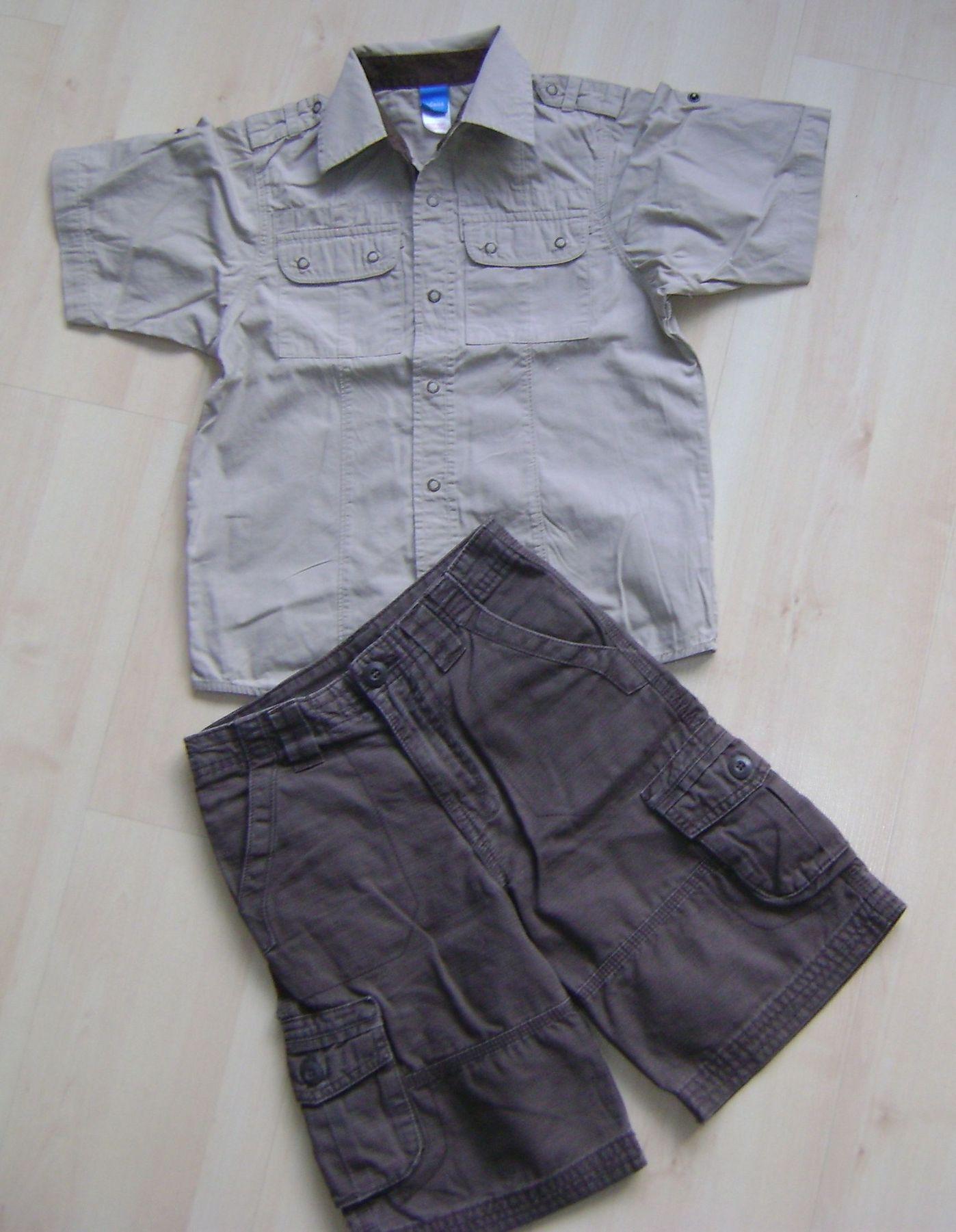 Ubranka na lato dla chłopca roz od 104 do 116