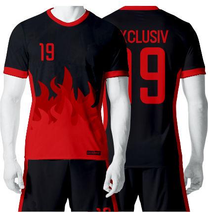 02869a64de0ad3 własny NADRUK strój piłkarski KOLORY - 7191290625 - oficjalne ...