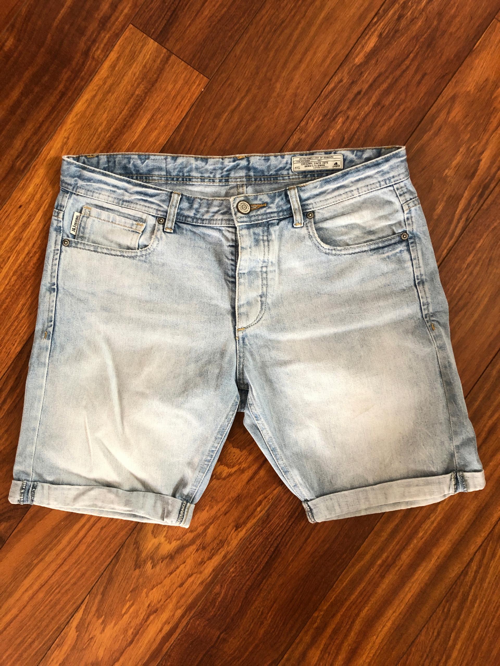 Krótkie jeansowe spodenki Jack Jones roz 34