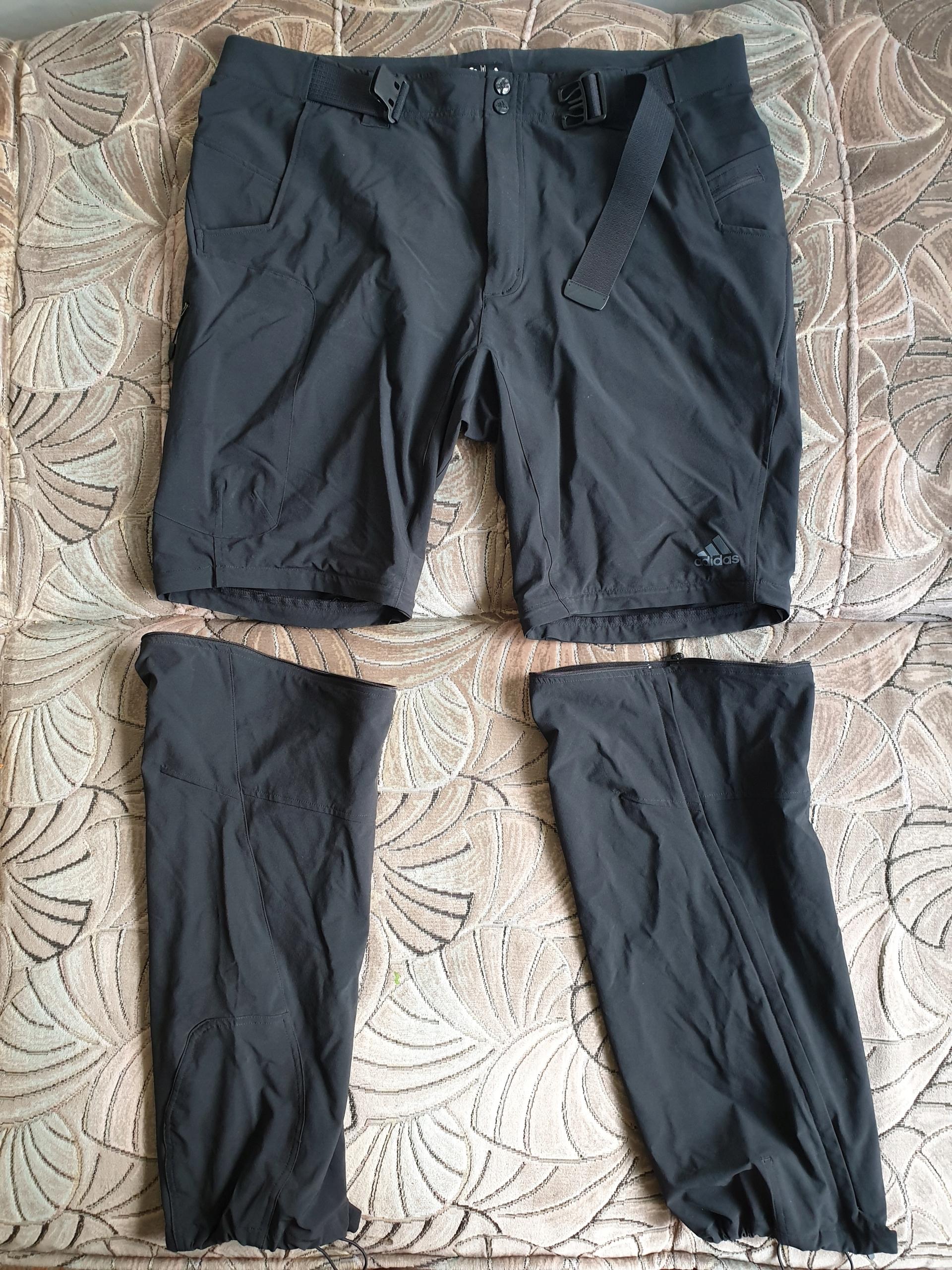 Spodnie trekkingowe adidas terrex rozmiar 56