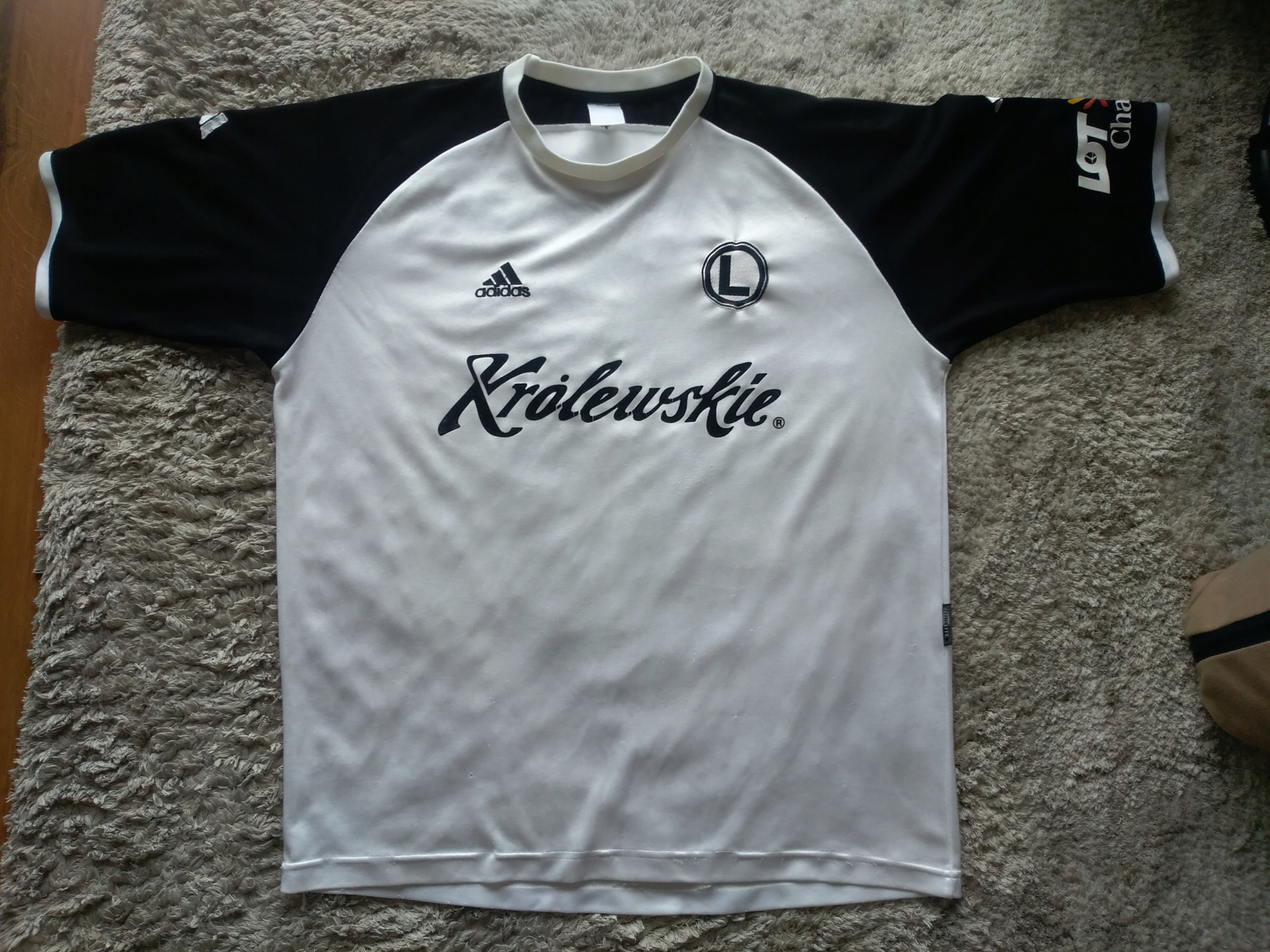 Koszulka Legia Królewskie 03/04 rozmiar L adidas