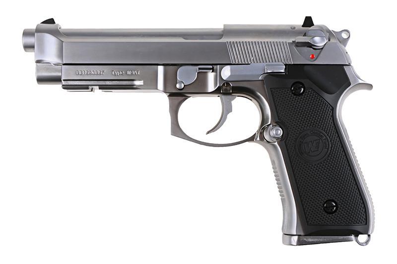 Pistolet WE M9A1 v.2 (LED Box) - ASG   REPLIKA
