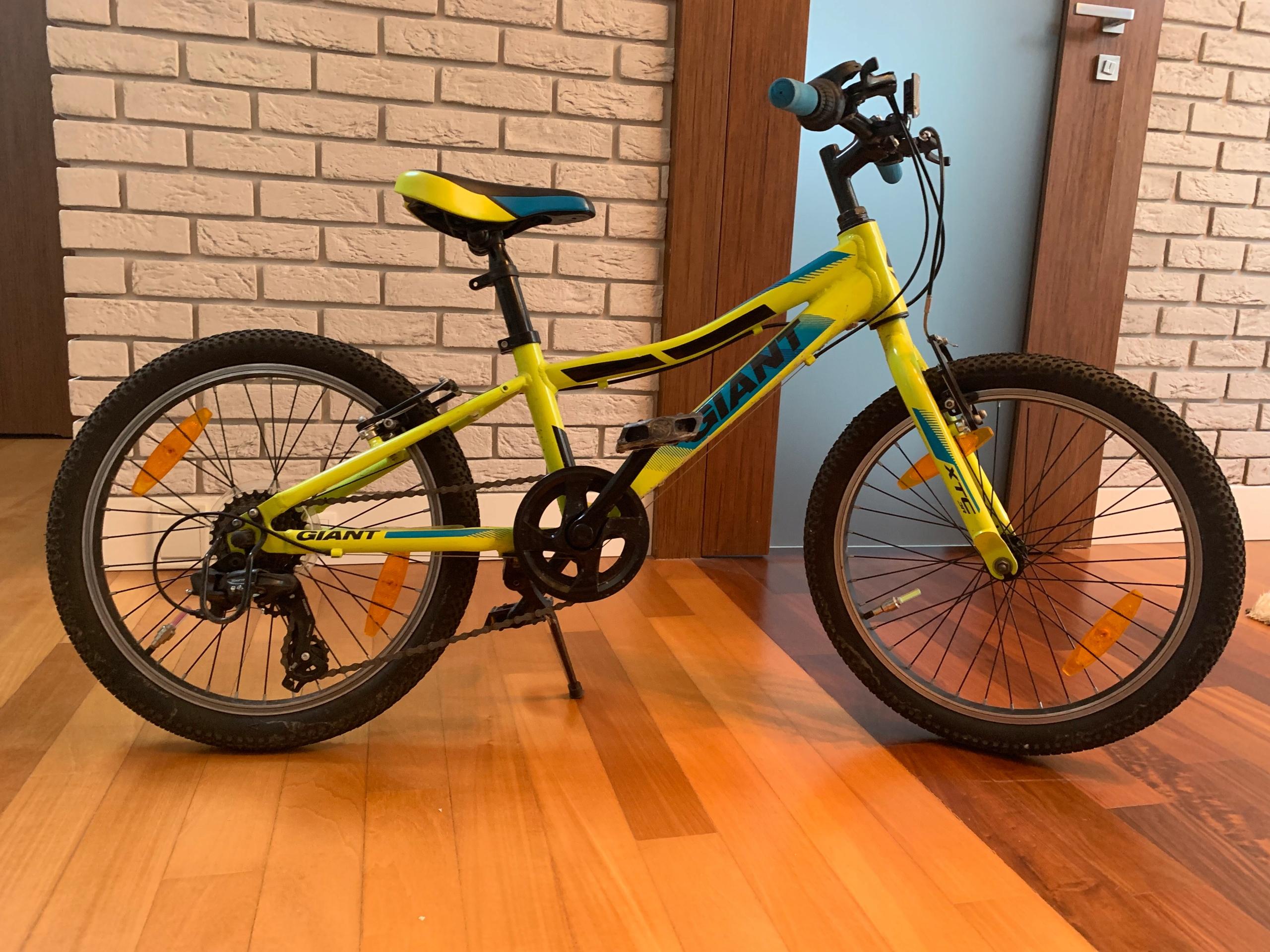 rower dziecięcy GIANT XTC JR 20 cali