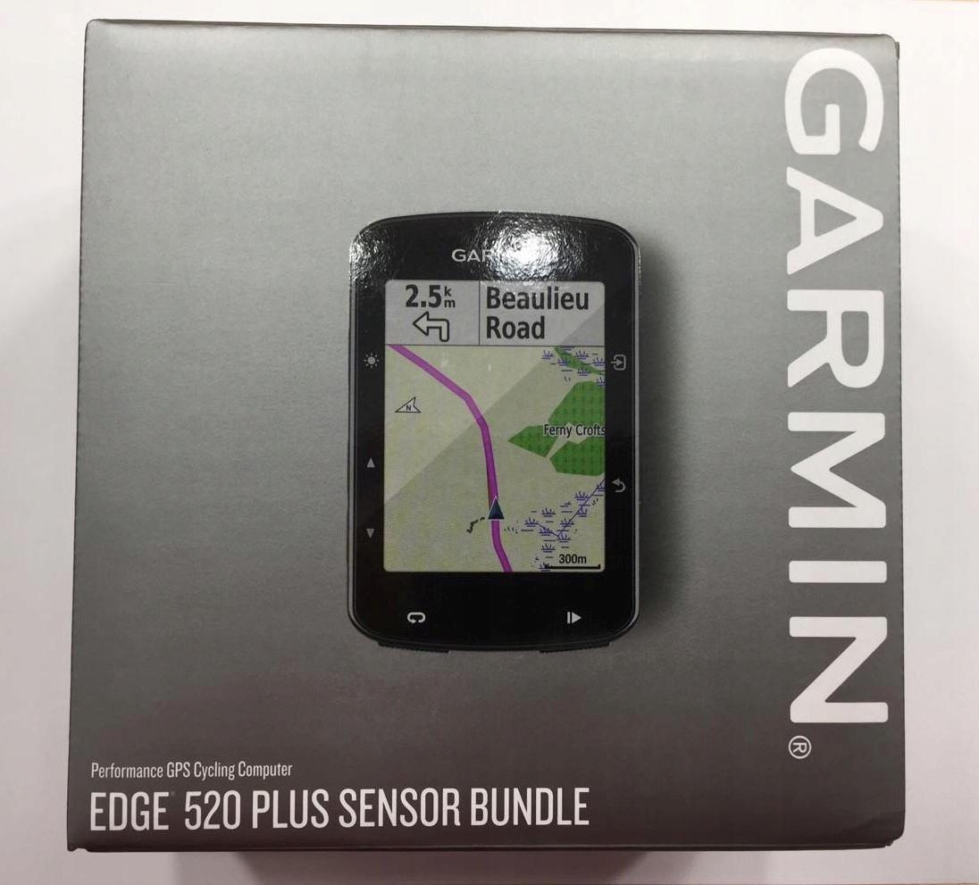 NOWY GARMIN EDGE 520 PLUS LICZNIK ROWEROWY GWARAN.