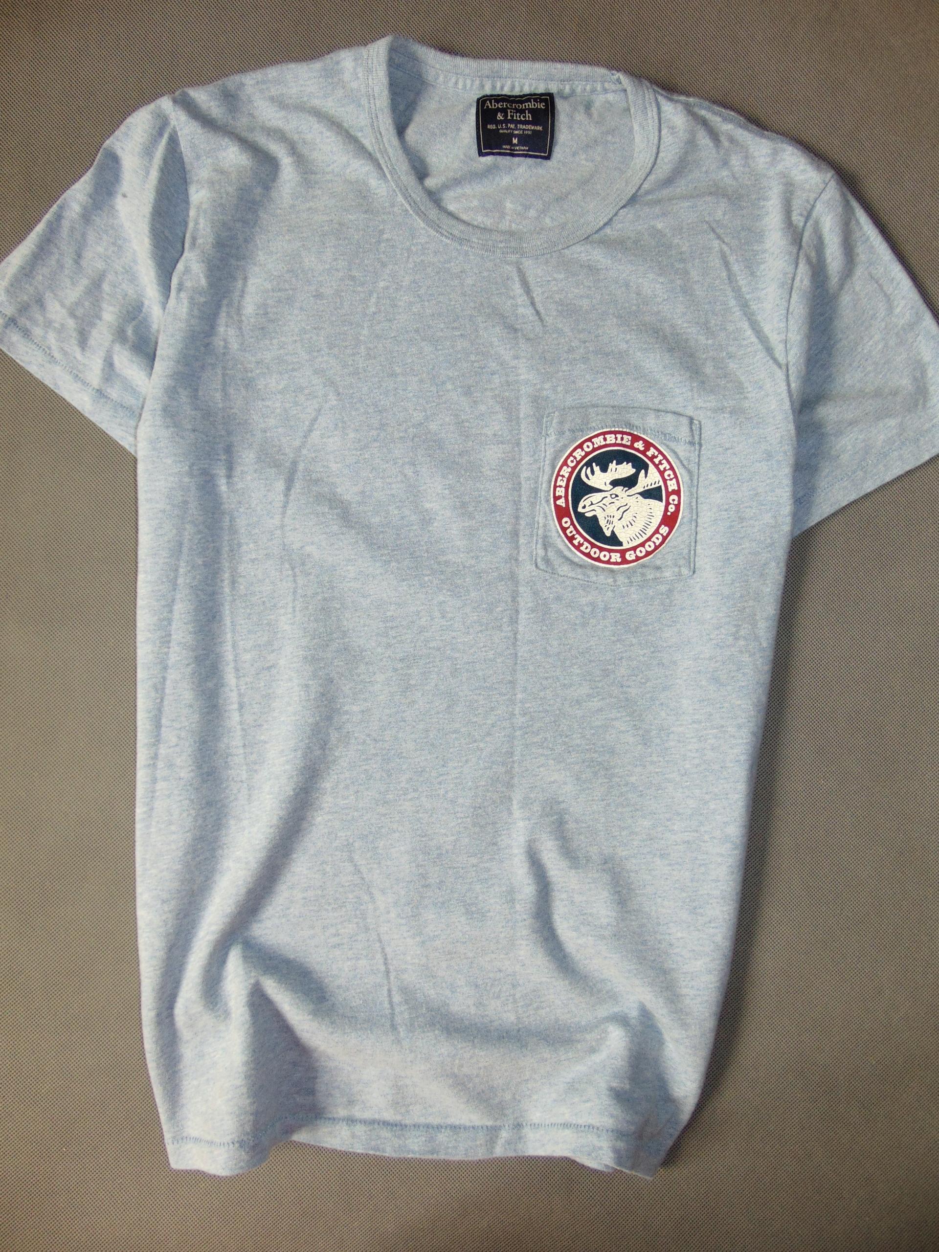 ABERCROMBIE&FITCH kapitalna koszulka męska M