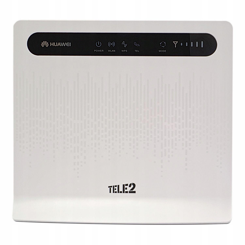 Router SIM 4G LTE WiFi Huawei B593 zapamiętuje PIN - 6987322799