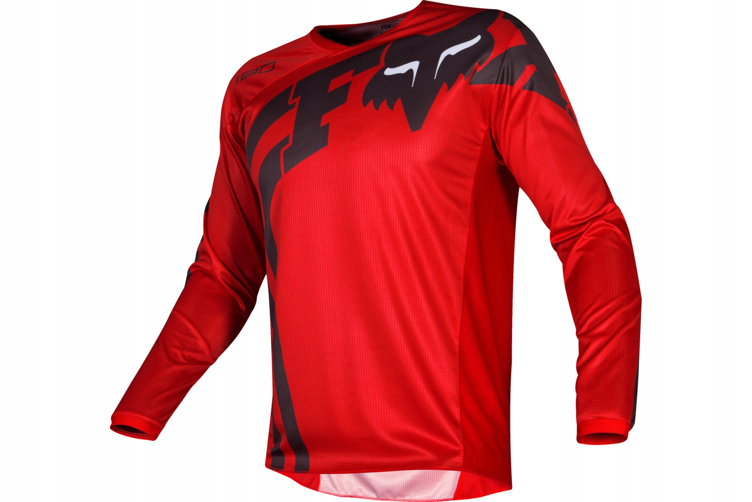 BLUZA KOSZULKA FOX JUNIOR 180 COTA RED YM CROSS