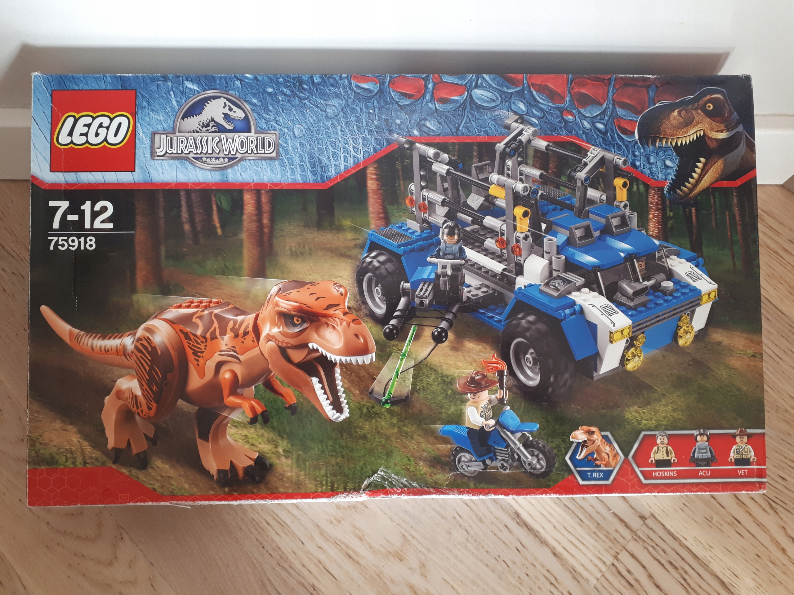 Lego Jurassic World 75918 Tropiciel tyranozaura