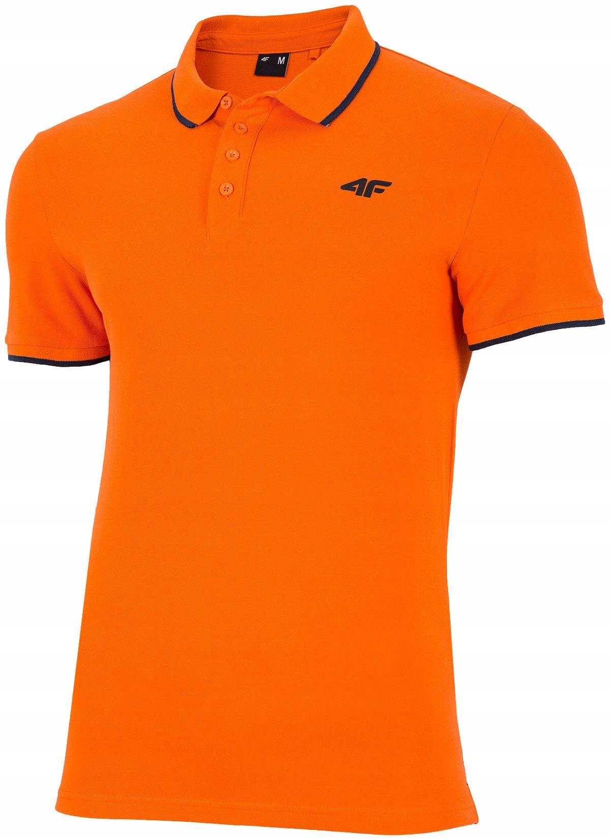Koszulka POLO męska T-SHIRT bawełna 4F TSM024 XL