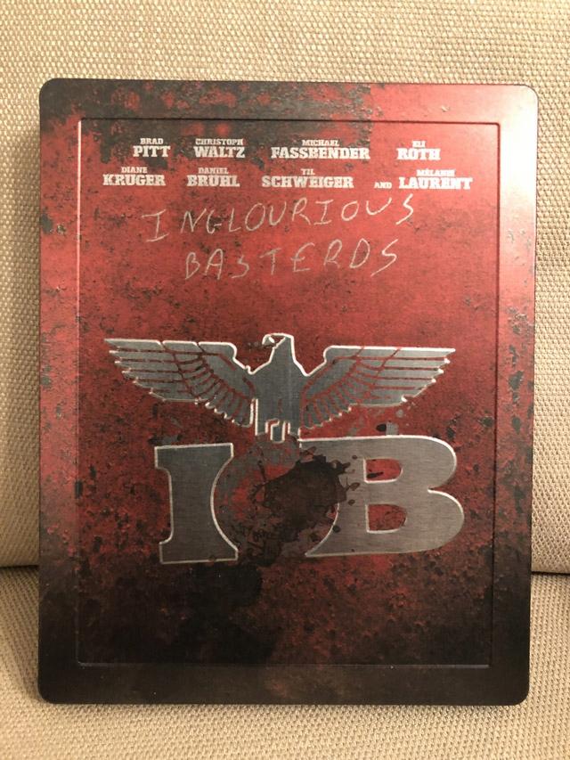 Bękarty Wojny - Inglourious Basterds Steelbook
