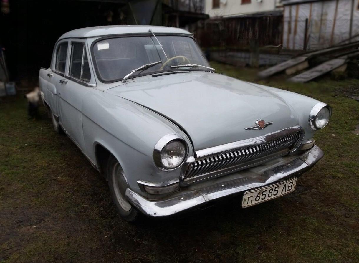 WOŁGA GAZ M21 2.4 1965R