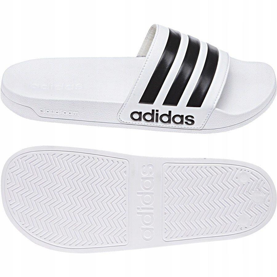 Klapki Męskie basenowe adidas Adilette biał 46