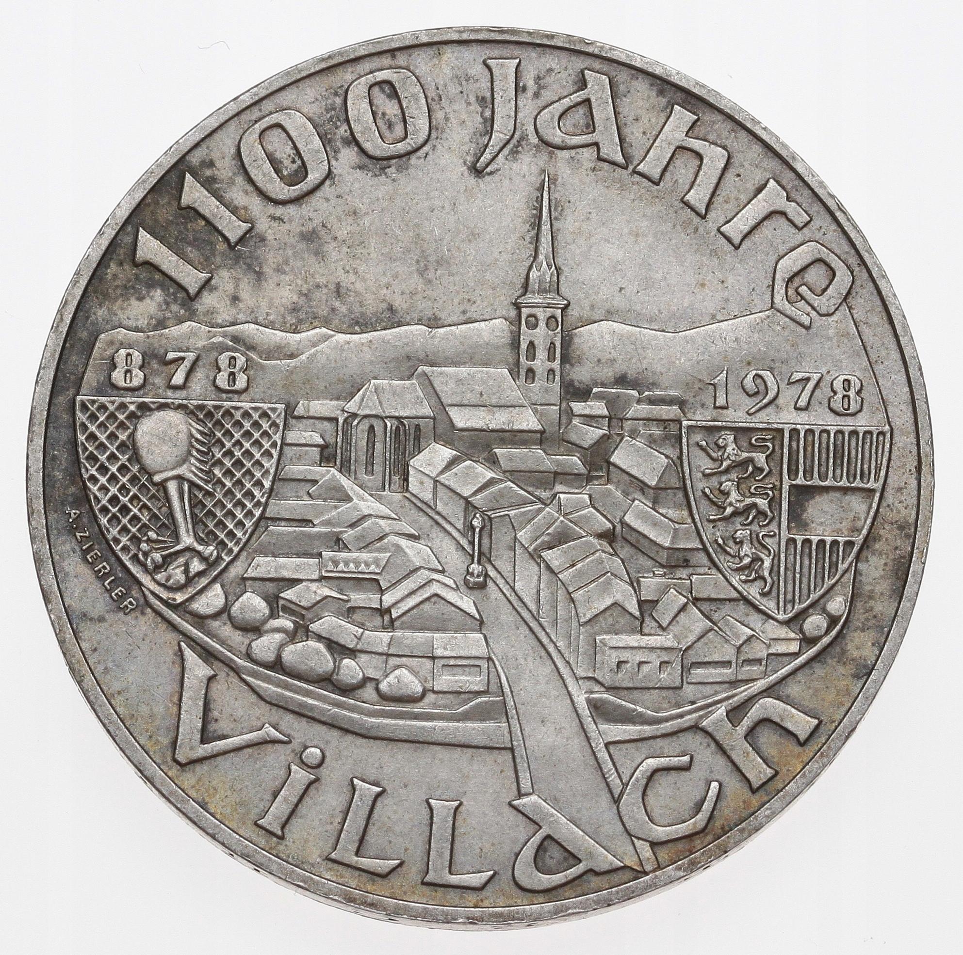 Austria 100 szylingów 1978 srebro