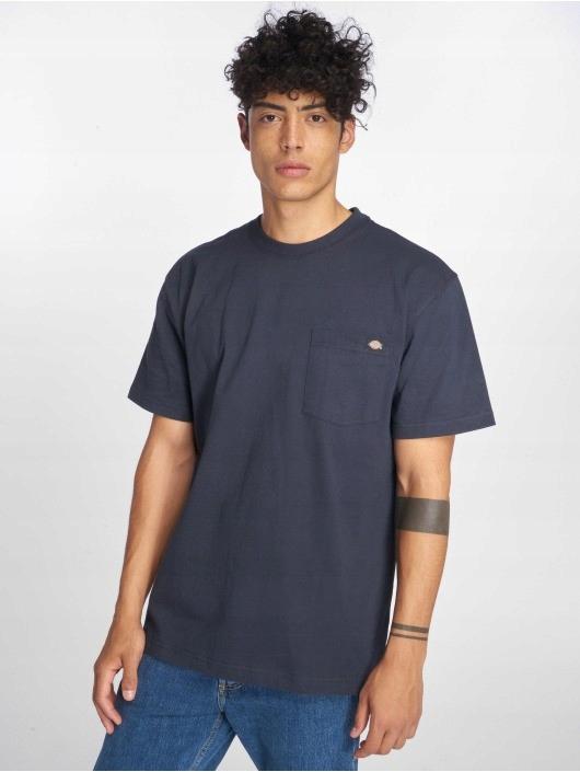 Modny T-shirt Dickies WS450 Pocket Navy rozm M
