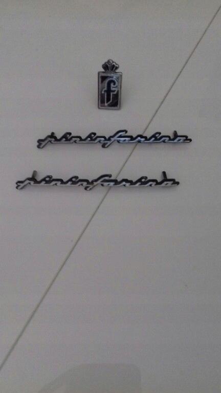 Emblemat Pininfarina Peugeot Fiat