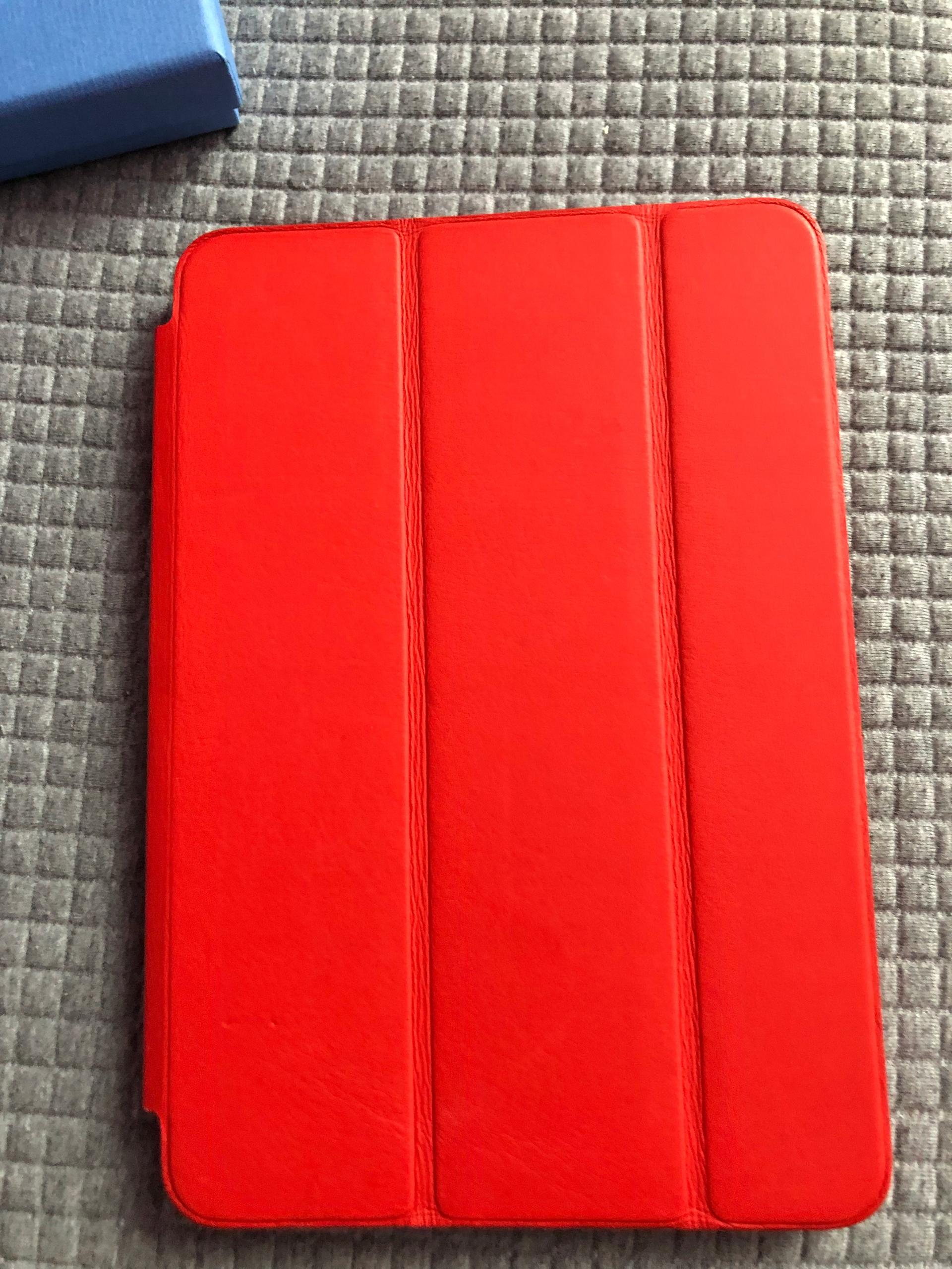 69c97277b9e53b Apple iPad mini 4 Case czerwony Skora - 7765355120 - oficjalne ...