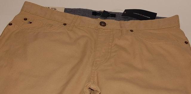 TOMMY HILFIGER SLIM FIT spodnie 33/30 pas 91 cm