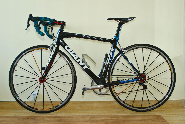Giant TCR Advanced, karbon, 50cm, 7500gr/7,5kg PRO