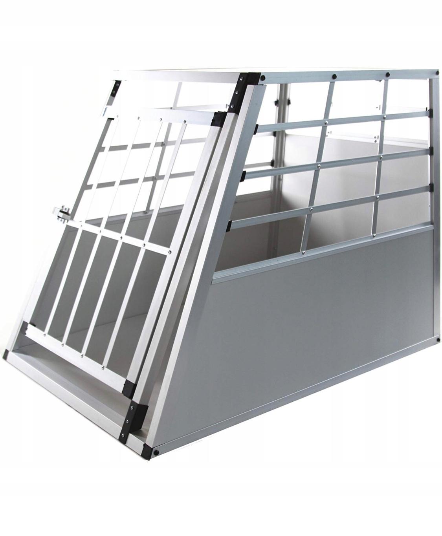 Aluminiowa klatka dla psa Transporter 92x 65 x 69